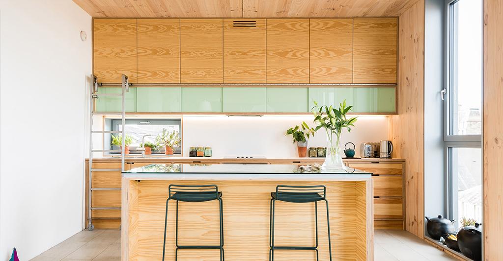 Plywood Kitchens Cabinet Makers Birkwood Scotland